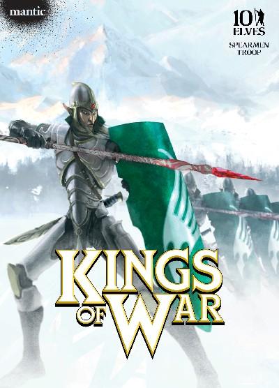 New Kings Of War Elves Set