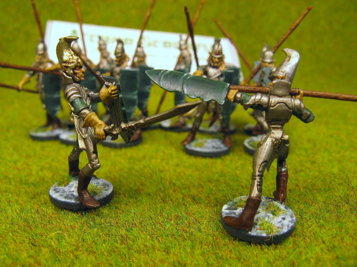 Painted Mantic Figures