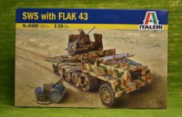 S.W.S. with FLAK 43 1/35 Italeri 6480