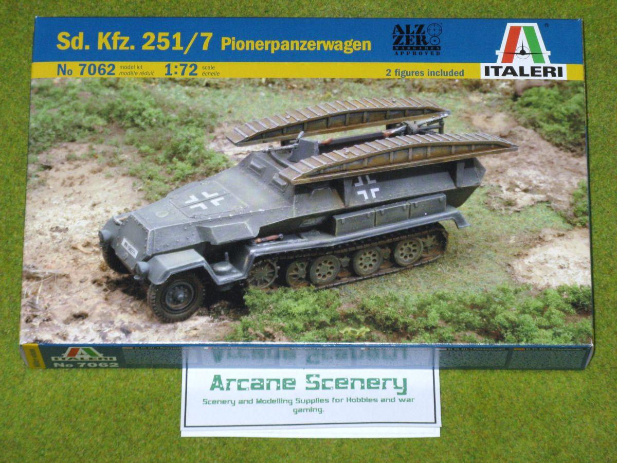 sd.Kfz.251 pioneer wagon 172