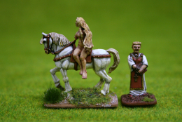 Trent Miniatures LADY GODIVA NC04 28mm Wargames