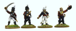 Trent Miniatures BRITISH OFFICERS ( Carribean) Car01