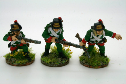 Trent Miniatures LOMBARDY LEGION SKIRMISHERS pack of 6  LL04
