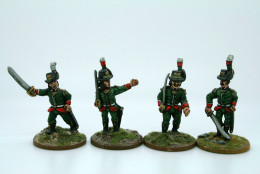 Trent Miniatures LOMBARDY LEGION OFFICERS pack of 6 figures LL05