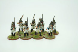 Trent Miniatures AUSTRIAN INFANTRY MARCHING AH98/01