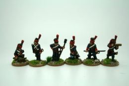 Trent Miniatures FRENCH HORSE ARTILLERY CREW FA02 28mm