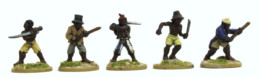 Trent Miniatures REVOLTING SLAVES Armes blanches pk of 8 figures Car04