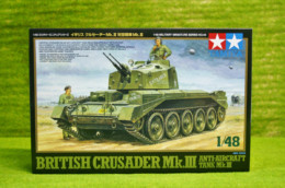 Tamiya BRITISH CRUSADER Mk. III AA  1/48 Scale kit 46