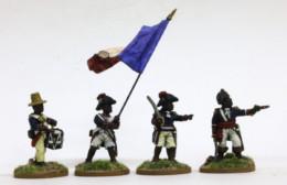 Trent Miniatures HAITIAN INFANTRY COMMAND Car08