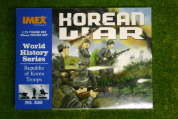 Republic Of Korea Troops 1/72 Imex Wargames 530