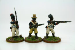 Trent Miniatures HAITIAN INFANTRY Bis Pack of 6 figures Car10