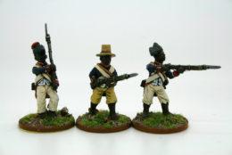 Trent Miniatures HAITIAN INFANTRY Bis Pack of 6 figures Car10