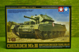Tamiya BRITISH CRUSADER Mk. III  1/48 Scale kit 55