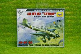 Zvezda GERMAN DIVE BOMBER JU 87 B2 STUKA 1/144  6123