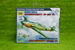 Zvezda GERMAN FIGHTER MESSERSCHMITT BF109F2 1/144  6116