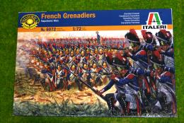 French Grenadiers 1/72 Italeri Napoleonic 6072