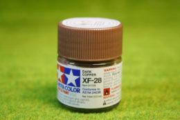 Tamiya Color DARK COPPER Acrylic Mini Paint XF28 10mls