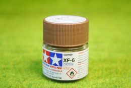Tamiya Color COPPER Acrylic Mini Paint XF6 10mls