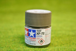 Tamiya Color BROWN  (JGSDF) Acrylic Mini Paint XF72 10mls