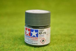 Tamiya Color DARK GREEN  (JGSDF) Acrylic Mini Paint XF73 10mls