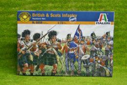 British & Scots Infantry 1/72 Italeri Napoleonic 6058