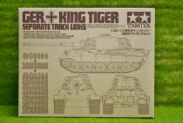 Tamiya GERMAN KING TIGER SEPERATE TRACK LINKS 1/35 Scale  Kit 35165