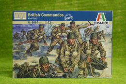 British Commandos WWII 1/72 Scale Italeri Military Kit 6064