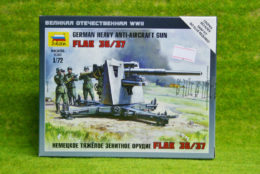 Zvezda GERMAN HEAVY ANTI-AIRCRAFT GUN FLAK 36/37 1/72 scale 6158