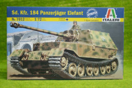 Italeri Sd Kfz 184 Panzerjager Elelfant 1/72 Scale 7012