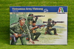 Vietnamese Army / Vietcong 1/72 Scale Italeri 6079