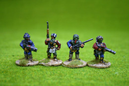 SYNGUREE DESERT FIGHTERS pack of 8 figures set 1 Trent Miniatures 28mm