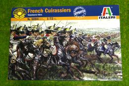 French Cuirassiers 1/72 Italeri Napoleonic Wargame 6084