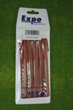 Expo Tools 5 PIECE DIAMOND COATED NEEDLE FILE SET 72512