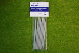 Albion Alloys PLASTIC SANDING NEEDLES COARSE 150 grit  Code 344