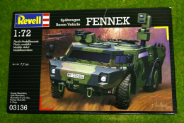 Fennek Recon Vehicle 1/72 Scale Revell Military Kit 3136