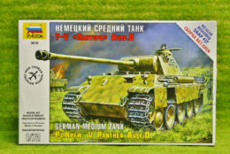 1:72 Scale Pz.Kpfw. PANTHER AUSF.D German Medium Tank Zvezda 5010