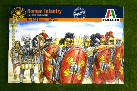 Roman Infantry 1stC 1/72 Italeri 6021 Historic Wargames