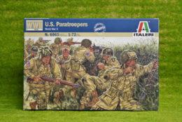 Italeri AMERICAN U.S. PARATROOPERS WWII 1/72 Kit 6063
