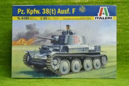 Pz. Kpfw. 38(t) Ausf. F  1/35 Scale Italeri 6489 D