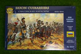 Saxon Cuirassiers 1/72 Zvezda Napoleonics 8035