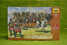 Dragoons Of Peter I 1701 -1721 1/72 Zvezda 8072
