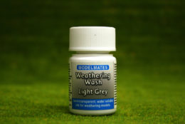 Modelmates LIGHT GREY WEATHERING Liquid Dye 25mls 49200