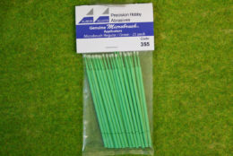 Albion Alloys Microbrush applicators – Microbrush regular/green Pack of 25 355