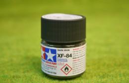 Tamiya Color DARK IRON Acrylic Mini Paint XF84 10mls