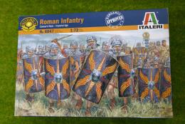 Italeri ROMAN INFANTRY 1/72 6047 Historical Wargames