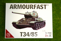 Armourfast T34/85 x 2 WWII Tank 1/72 set 99009