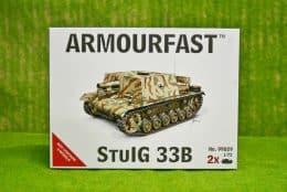 Armourfast STUIG 33B  x 2 WWII Tank 1/72  99029