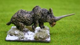 DeeZee Miniatures ELASMOTHERIUM YOUNG DZ06 28mm Wargames