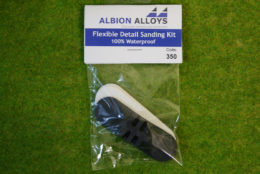 Albion Alloys FLEXIBLE DETAIL SANDING KIT code 350