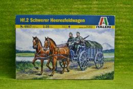 Hf.2 Schwerer Heeresfeldwagen 1/35 Italeri kit 6517 D
